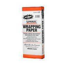 u haul packing paper 10 lb pack
