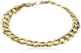 mens gold bracelet links images Men 39 s 10k yellow gold 8 8mm curb link bracelet 9 jpg