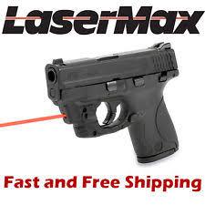 m p shield laser light combo lasermax hunting lights lasers ebay