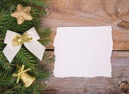 Christmas Invitation Cards Blank Christmas Card Or Invitation With Gold Envelope Surrounded