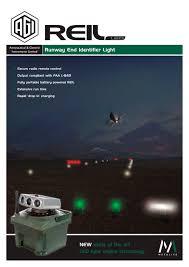 runway end identifier lights led reil military runway end identifier light metalite aviation