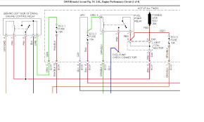 hyundai accent gl stereo wiring diagram with template pictures