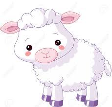 farm animals illustration of cute lamb royalty free cliparts