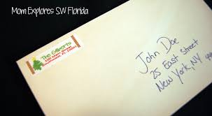Where To Put A Christmas by Christmas Return Address Labels Mom Explores