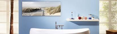 glasbilder für badezimmer bilder fürs bad bei hornbach