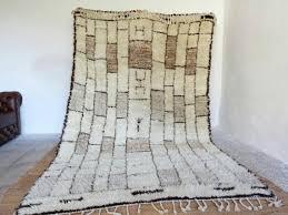 moroccanrugs brick wall rug moroccan beni ourain rug 6x10 area