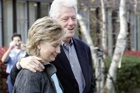 Hillary Clinton Hometown Ny by Clinton Chappaqua Former President Bill Clinton Applauds As His