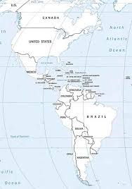North And South America Map Blank by Blank North And South America Map