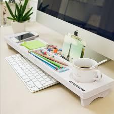 Schreibtisch Schmal Holz Cybernova Schreibtisch Organizer Kleine Objekte Storage Tastatur