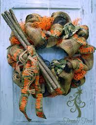 diy camo wreath tutorial trendy tree blog holiday decor