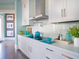 Nice Glass Tiles For Kitchen Glass Tile Backsplash Ideas Home - Teal glass tile backsplash