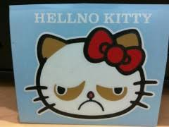 Hello Kitty Meme - grumpy cat hello kitty weknowmemes