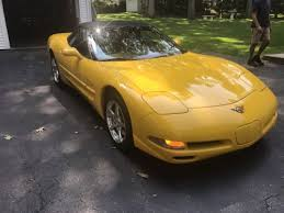 yellow corvette c5 2002 yellow corvette for sale shelton connecticut
