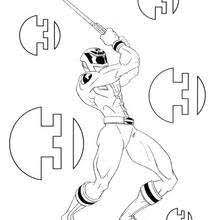 power ranger sword coloring pages hellokids
