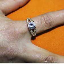 girls golden rings images Fashion golden zircon ring jewelry for women fashion gifts for jpg