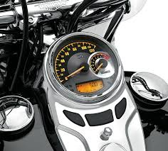 70900070b harley davidson combination analog speedometer