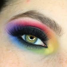 rainbow black friday pittpanthermua tutorial blown out rainbow black smokey eye