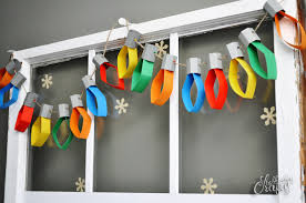 Colored Christmas Lights by Paper Christmas Lights Garland Tutorial Stubbornly Crafty