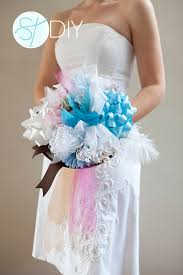 wedding gift bows how to make a bridal shower bow bouquet easy steps