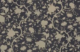 botanical floral charcoal wallpaper sample kelly hoppen london