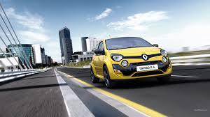 renault yellow renault twingo car yellow cars wallpapers hd desktop and