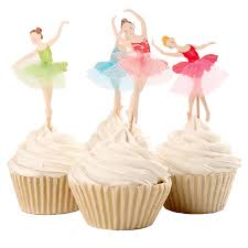 ballerina cake toppers graceful ballerina cupcake topper dancer cake topper cake
