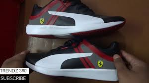 ferrari shoes puma ferrari shoes unboxing u0026 first look youtube