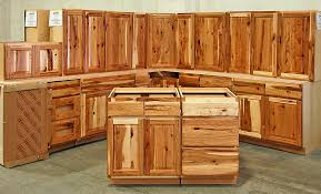 Assembledhickorykitchencabinets Do It Yourself Rustic Barn - Rustic kitchen cabinet