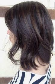 dark brunette with low light streaks hair pinterest dark