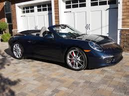 navy blue porsche convertible 991 s cabriolet delivered rennlist porsche discussion forums