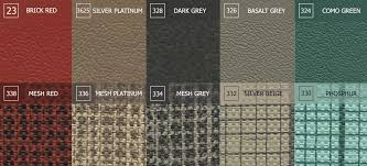 Tmi Upholstery Vw Tmi Interiors Fabrics U0026 Colour Samples
