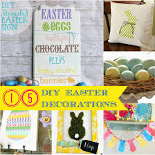 i dig pinterest easter link party features 15 diy decorations for