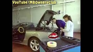 mercedes benz u2014 manually close vario roof sl class youtube