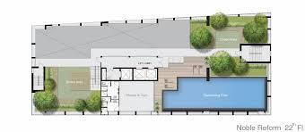 Home Gym Floor Plan คอนโด โนเบ ล ร ฟอร ม อาร ย พหลโยธ น คอนโดม เน ยม ต ดรถไฟฟ า Bts