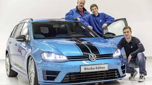 volkswagen variant 2015 volkswagen golf variant biturbo edition bows at wörthersee