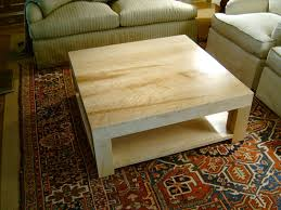 doucette and wolfe fine furniture makers coffee table handmade oak