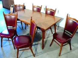 second hand table chairs refurbished dining table reclaimed room set chairs for sale second