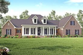 stone and brick style plans houseplans com