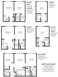 efficiency floor plans 1 bedroom efficiency apartment plans