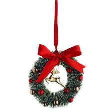 Outdoor Christmas Decorations Homebase by Hanging Wreath Tree Decoration At Homebase Co Uk