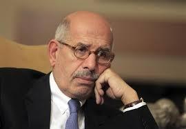 """البرادعي: النظام يتعامل بـ""""غوغائية"""" أزمة"""