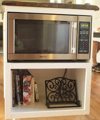 under cabinet microwave building a custom microwave cabinet simply swider