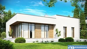 modern one story house plans most spacious and best lighted