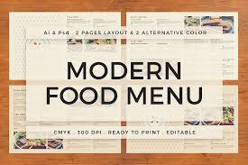 pages menu template 30 food drink menu templates design shack