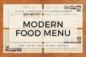 pages menu template 30 food drink menu templates design shack