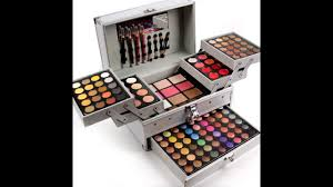 professional makeup set box in aluminum three layers include