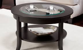 Coffee Table Glass by Compelling Tags Glass And Wood Coffee Table Storage Ottoman
