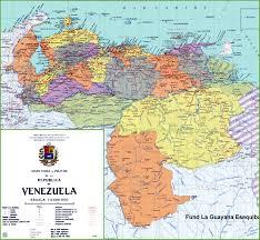 Venezuela World Map by Venezuela Maps Maps Of Venezuela