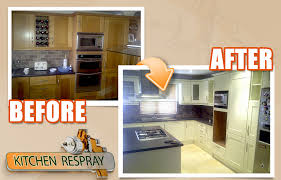 how much does it cost to respray kitchen cabinets see some before and after kitchen resprays respray pertaining to