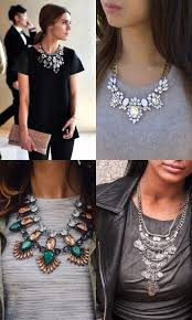 style statement necklace images Style guide statement accessories necklaces faire belle JPG